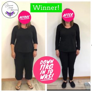 """👏 👏Look at who is a WINNER here! 👏👏 and still going! 👏👏 🌸 This lovely client came to me for help to lose weight. 🌸 She said I'm not sure how I'm going to go as typically """"I'm a quitter""""! 🤩 Well looks who's done fabulous on her Personalised Nutrition Plan and is Now """"a WINNER!"""" 🤩 I'm so happy for her as she now has 🌸 """"more energy"""" 🤩 🌸 """"less joint pain"""" 🌸 """"clearer skin"""" 🌸 her """"clothes fit again including much smaller ones"""" 👗 🌸 """"did not feel hungry on the plan and found it easy to stick to""""🍏 🌸 has """"no sugar and junk food cravings"""" anymore! 🤩 WINNER 🤩 Gains: Down 11kg in 10 weeks Down 3.4% total body fat Down 2 points now to a healthy visceral fat level Down 11cm on her waist Down 7cm on her hips Down 6cm on her thighs 🤩👏👏👏👏👏👏👏👏🤩 If you would like to experience this unique and effective nutrition program tailored to your metabolic biochemistry to maximize results call me now on 0439828669 or book a FREE 15 minute phone consult (via link below)to find out how it can work wonders for you too! There's still time to achieve a slimmer healthier you before Christmas! Please note! These are typical results for this time frame, however some achieve more and some less as we are all individual and have different health issues. https://balancedhealthnaturally.setmore.com/ . . #weight_loss #menopauserelief #personalisedhealth #naturalhealth #womenshealth #getmoreenergy #feelgreat #loseweight #balancedhealthnaturally #adelaidenaturopath #metabolicbalancecoach #metabolicbalance #personalisednutrition #womenswellness #nutritioncoach #nutrition #weightlossstruggle #thyroidhealth #hashimotos #hypothyroidism #resetyourbody"""