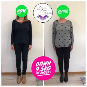 Tash's great results down 95kg in 8 weeks!